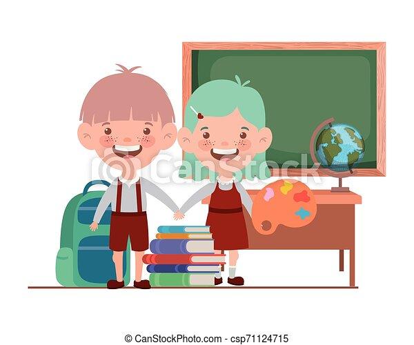 教室, 生徒, 学校, suppliesin, 恋人 - csp71124715