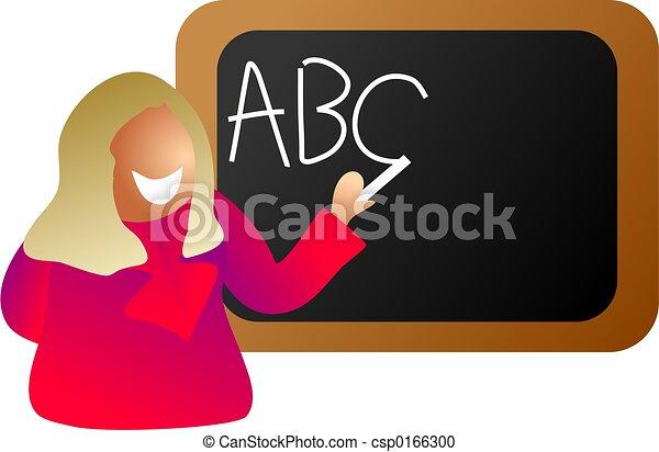 教師, 英語 - csp0166300