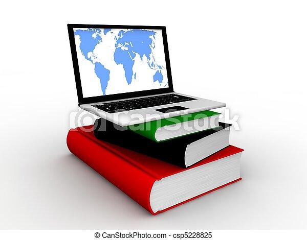 教育, オンラインで - csp5228825