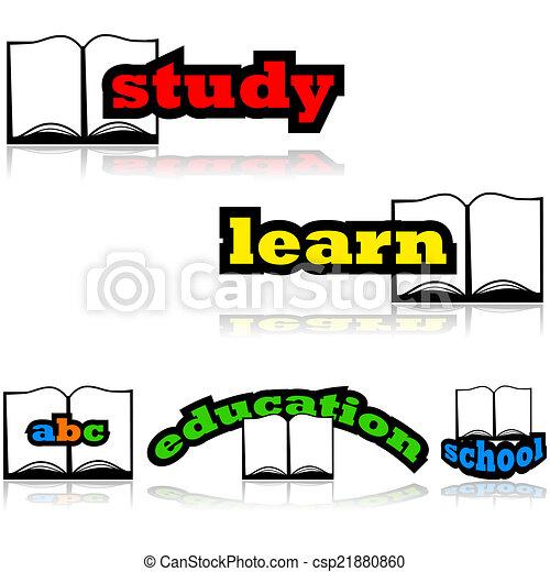教育, 本 - csp21880860