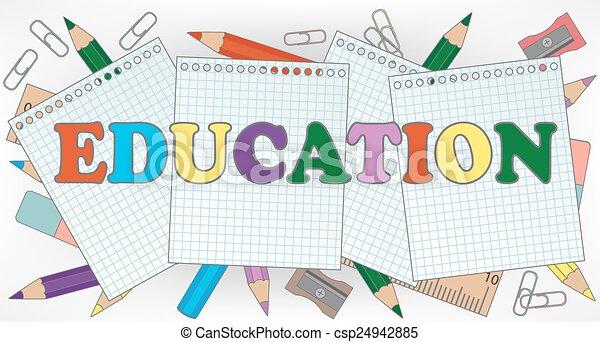 教育 - csp24942885