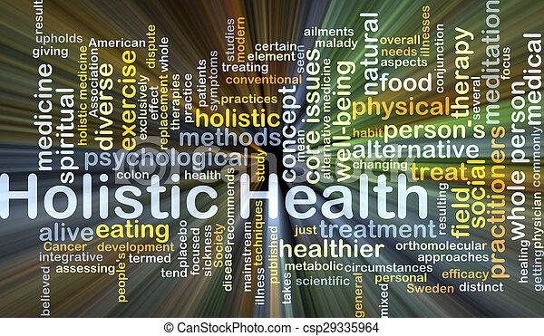 整体, 發光, 概念, 健康, 背景 - csp29335964