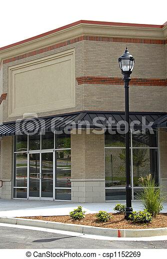 新しい, コマーシャル, office-retail, スペース - csp1152269