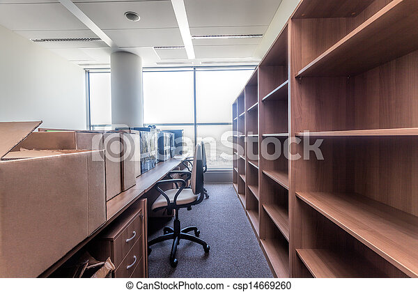 新しい, 可動のオフィス - csp14669260