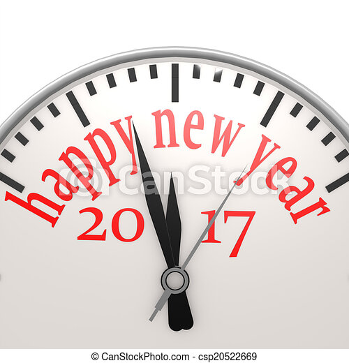 新しい, 2017, 幸せ, 年 - csp20522669
