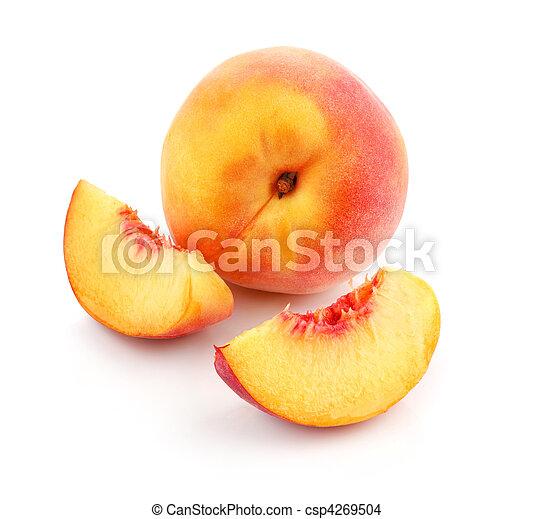 新たに, 切口, 桃, 成果 - csp4269504