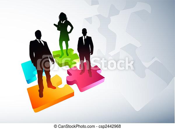 新的商務, 戰略 - csp2442968