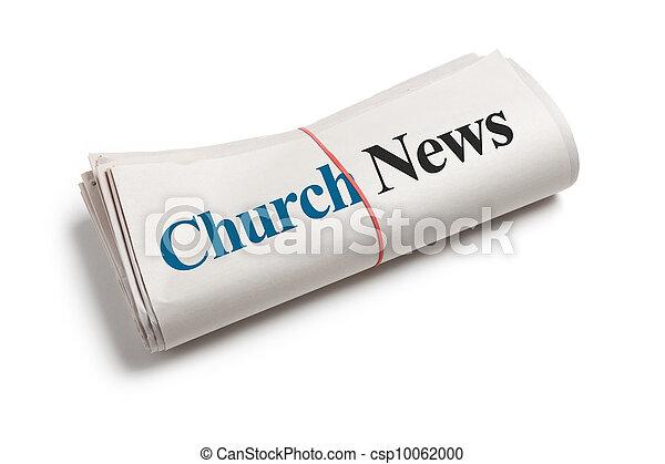 新聞, 教堂 - csp10062000