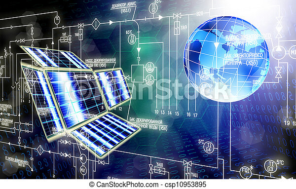 新, 連接, 技術 - csp10953895