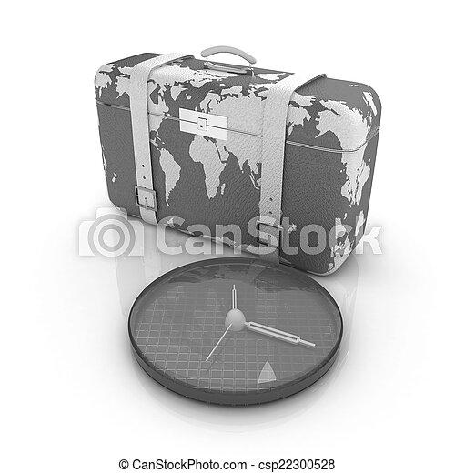 旅行, スーツケース - csp22300528
