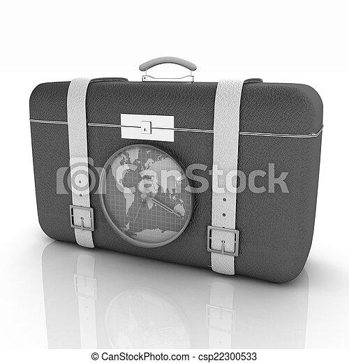 旅行, スーツケース - csp22300533