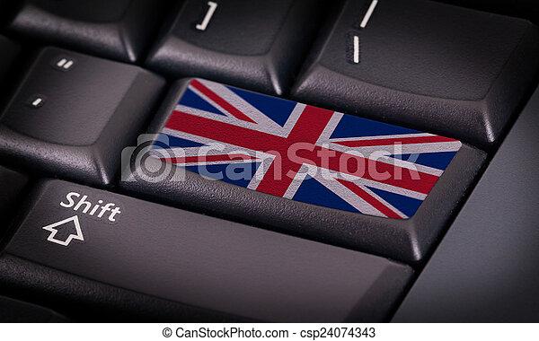 旗, キーボード - csp24074343