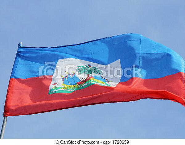 旗, ハイチ - csp11720659