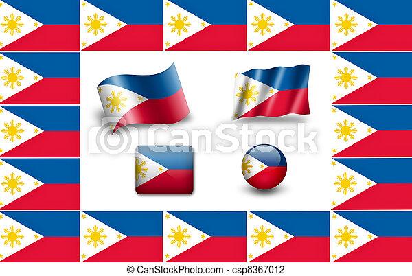 旗, フィリピン - csp8367012