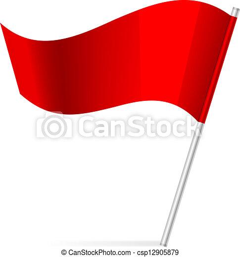 旗, ベクトル, イラスト - csp12905879