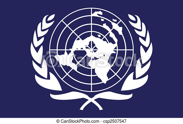 旗, 国際連合. ありなさい, reso...