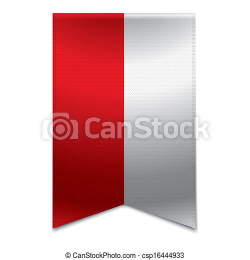 旗, 旗, -, リボン, ポーランド語 - csp16444933