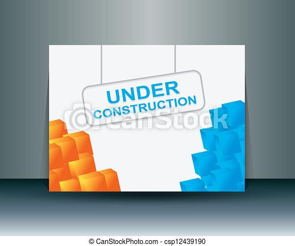 旗, 概念, 下に - csp12439190