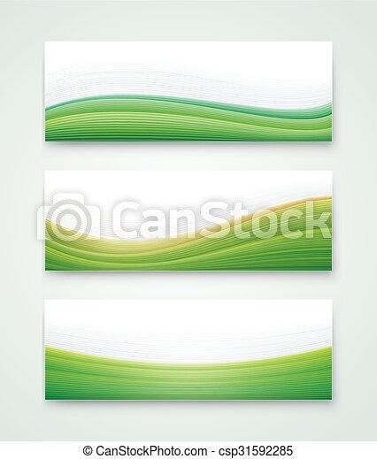 旗, 風景, 緑 - csp31592285