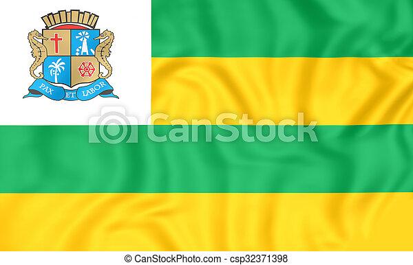 旗, aracaju, brazil. - csp32371398