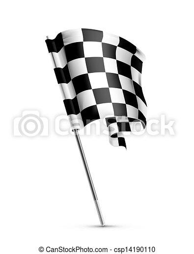 旗, checkered - csp14190110