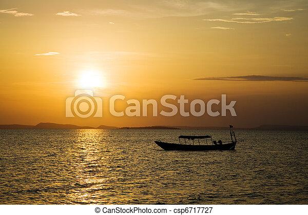 日の入海, 上に - csp6717727