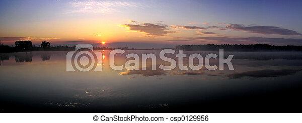 日の出 - csp0129956