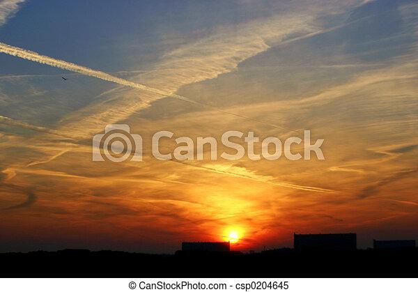 日の出 - csp0204645
