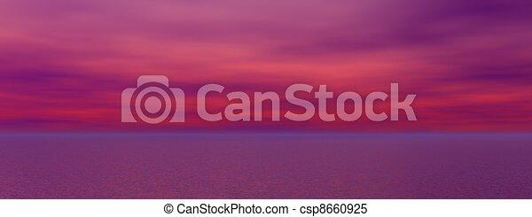 日の出 - csp8660925