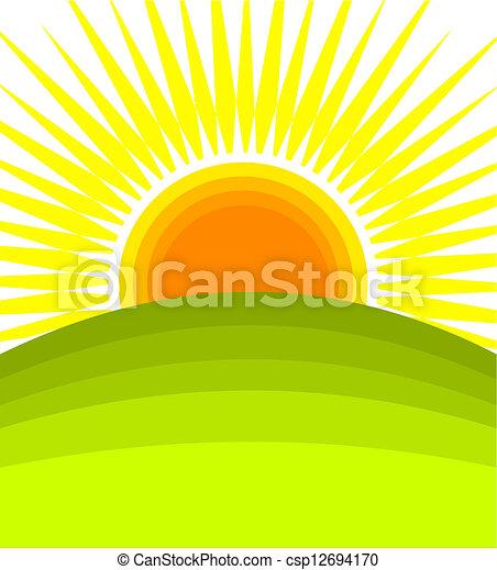 日の出 - csp12694170