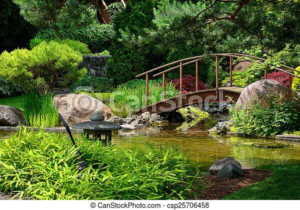 日本の庭 - csp25706458