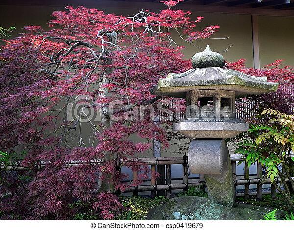 日本の庭 - csp0419679