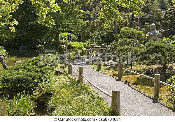 日本の庭 - csp0704634