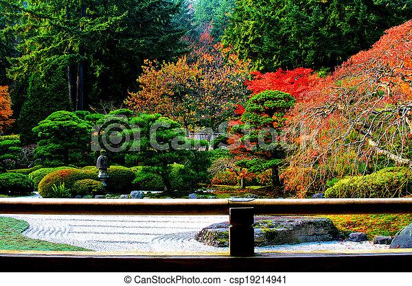 日本の庭 - csp19214941