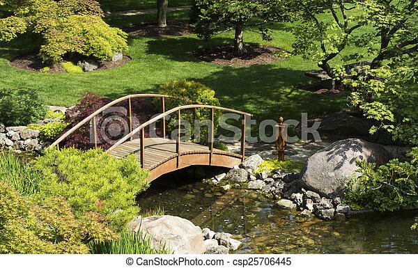 日本の庭 - csp25706445