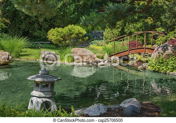 日本の庭 - csp25706500