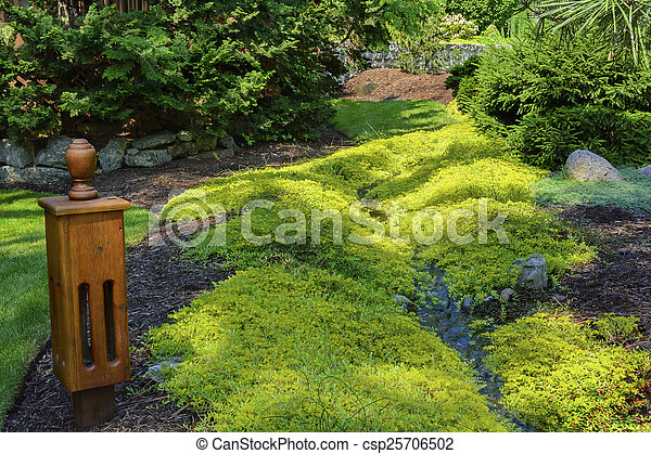 日本の庭 - csp25706502