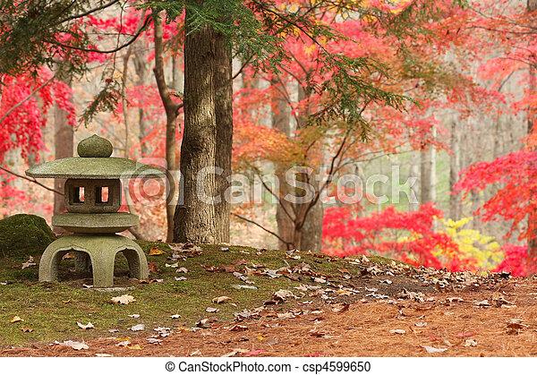 日本の庭 - csp4599650