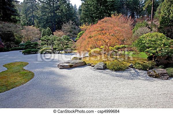 日本の庭 - csp4999684