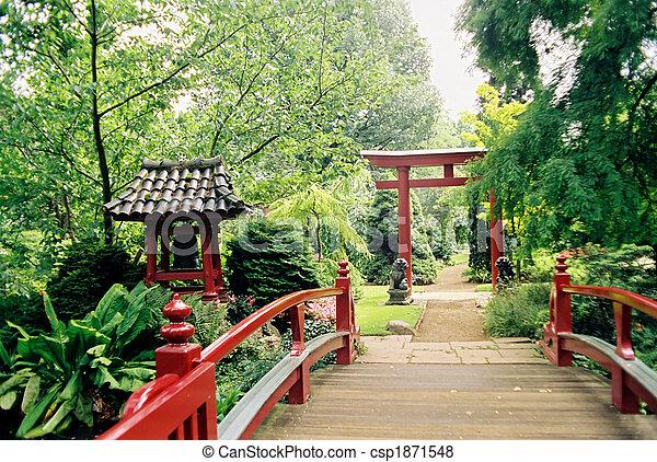 日本の庭 - csp1871548