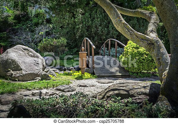 日本の庭 - csp25705788