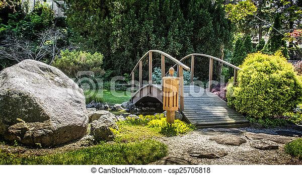 日本の庭 - csp25705818