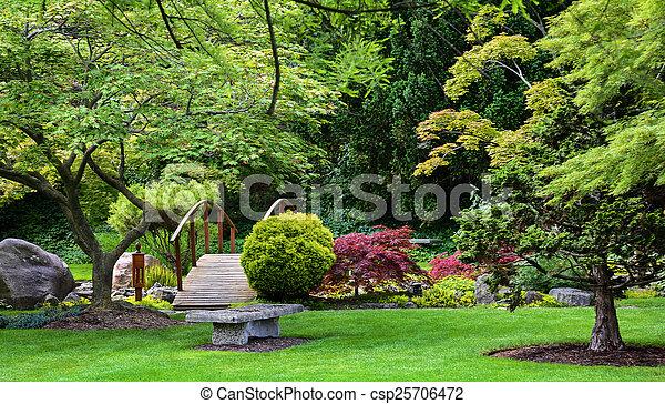 日本の庭 - csp25706472