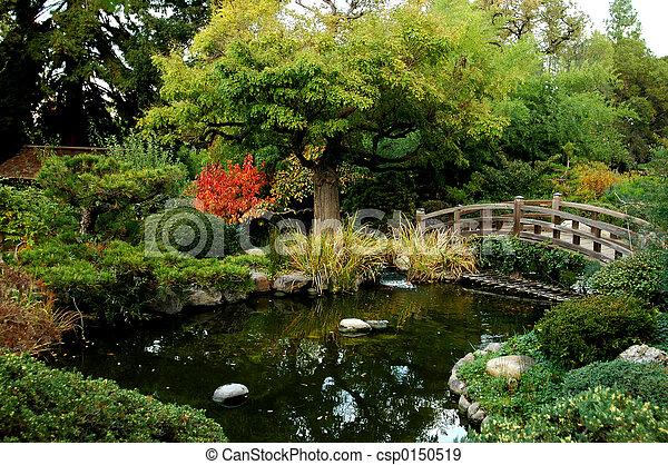 日本語, bri, 庭 - csp0150519