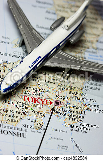 日本, 旅行 - csp4832584