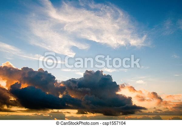 日没の 空 - csp1557104