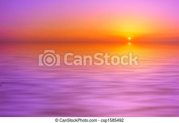 日没, 背景 - csp1585492