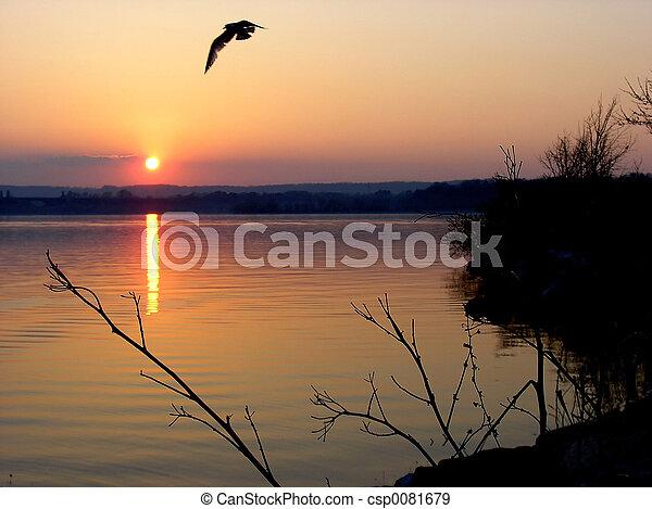 日落 - csp0081679