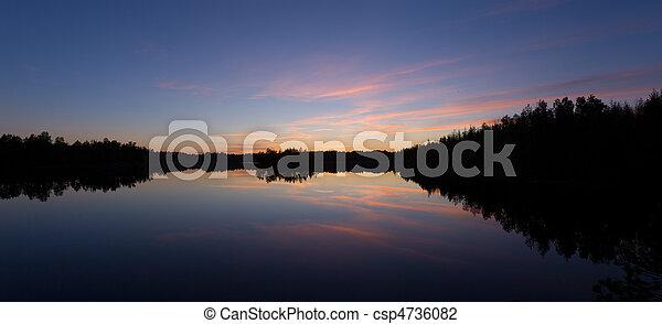 日落 - csp4736082