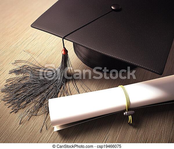 日, 卒業 - csp19466075